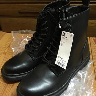 GU - gu ワークブーツ ブラック 新品未使用品 26cm