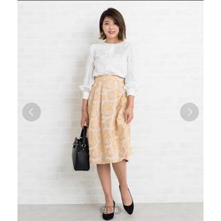 ナチュラルビューティーベーシック(NATURAL BEAUTY BASIC)のナチュラルビューティ スカート(ひざ丈スカート)