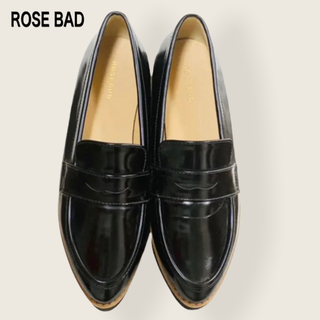 ROSE BUD - ROSE BUD プラットフォームローファー