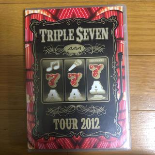 AAA - AAA TOUR2012 777 TRIPLESEVEN