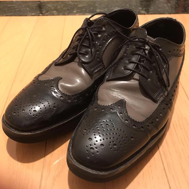 REGAL(リーガル)の【リクガメさま専用】REGAL ウィングチップ メンズの靴/シューズ(ドレス/ビジネス)の商品写真