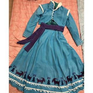 Disney - アナと雪の女王 家族の思い出 アナ コスプレ衣装