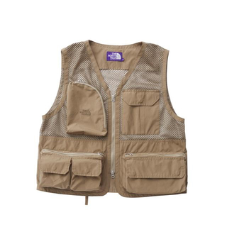 ザノースフェイス(THE NORTH FACE)のTHE NORTH FACE PURPLE LABEL MESH VEST (ベスト)