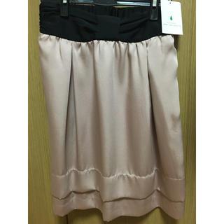 グリーンレーベルリラクシング(green label relaxing)の新品 スカート グリーンレーベルリラクシング(ひざ丈スカート)