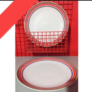 ittala ORIGO ディナープレート   Red×2