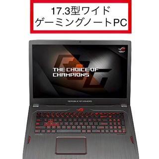 ASUS - 【新品】17.3型ゲーミングノートPC ASUS ROG GL702ZC-R7