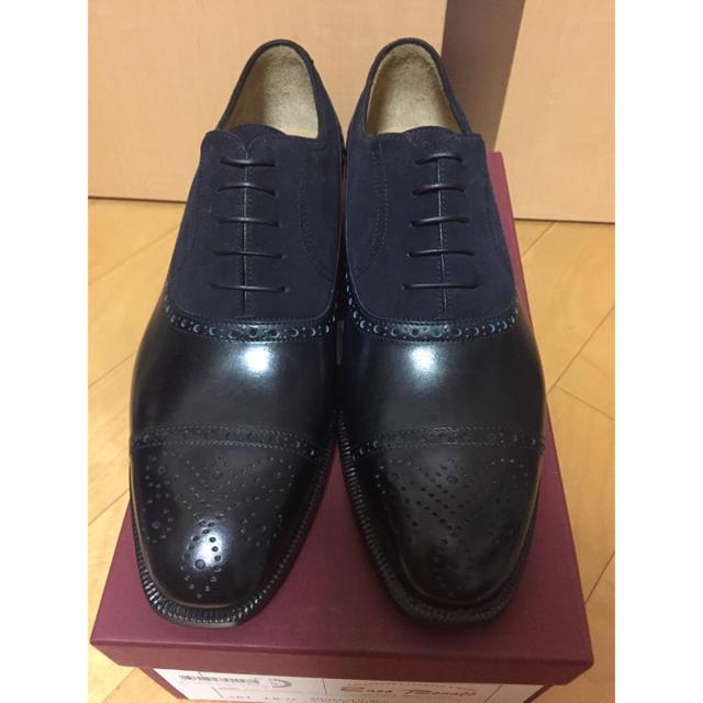 ENZO BONAFE(エンツォボナフェ)のエンツォ・ボナフェ Enzo Bonafe パンチドキャップトゥ 26cm メンズの靴/シューズ(ドレス/ビジネス)の商品写真