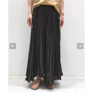 L'Appartement DEUXIEME CLASSE - 新品 アパルトモン Pleats Skirt ブラウン