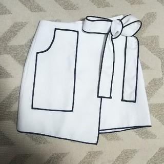 Lily Brown - インポート リボン ラップスカート