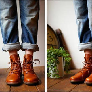 トリッペン(trippen)のトリッペン ノマド⭐️1度だけ使用の美品(ブーツ)