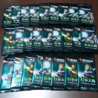 マジック:ザ・ギャザリング - 未開封品 灯争大戦ブースターパック日本語版26パックセットMTG