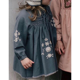 apolina maren smock dress Mサイズ 新品