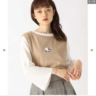 カスタネ(Kastane)のkutir 羊刺繍ニットベスト(ベスト/ジレ)