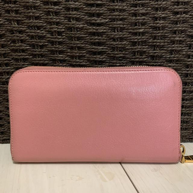 miumiu(ミュウミュウ)のmiumiu ミュウミュウ 長財布 メンズのファッション小物(長財布)の商品写真