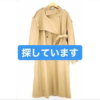サンシー(SUNSEA)の【求】keisuke yoshida  トレンチコート(トレンチコート)