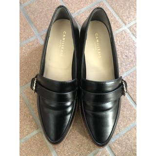 ランダ(RANDA)の【売切希望】randa ローファー シューズ 黒(ローファー/革靴)