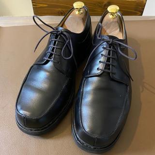 パラブーツ(Paraboot)のパラブーツ デカタグ Uチップ メンズ 革靴 ビジネス 黒(ドレス/ビジネス)