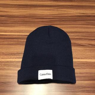 カルバンクライン(Calvin Klein)のカルバンの帽子(ニット帽/ビーニー)
