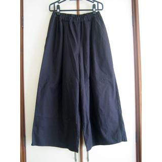 SM2 - SM2 ワイドパンツ 黒/ブラック フリーサイズ