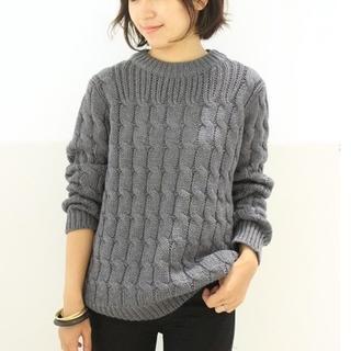 DEUXIEME CLASSE - M.MARTIN ケーブルニット 5.7万円 ドゥーズィエムクラス セーター