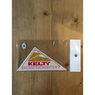 KELTY ケルティー ロゴ ステッカー 正規品 Mサイズ