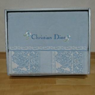 クリスチャンディオール(Christian Dior)のChristian Dior 綿毛布 140㎝×200㎝(毛布)