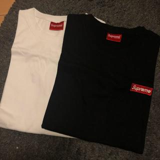 シュプリーム風 tシャツ 二枚セット