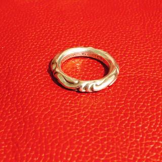 Chrome Hearts - クロムハーツ 指輪 スクロールバンドリング 確実正規品 自身購入