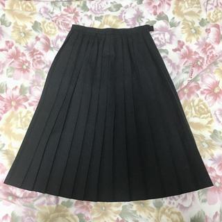 プリーツスカート 濃紺 Mサイズ