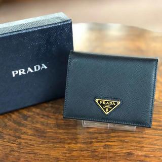 プラダ(PRADA)のPRADA プラダ 財布 折り財布 コンパクトウォレット(財布)