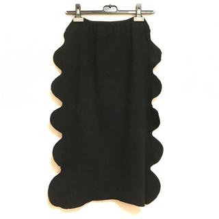ISSEY MIYAKE - イッセイミヤケ ISSEY MIYAKE スカート 黒