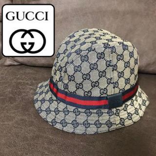 Gucci - 美品♡GUCCI グッチ ハット 帽子  内側カシミヤ