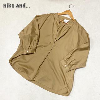 【niko and...】シャツ ブラウス ニコアンド