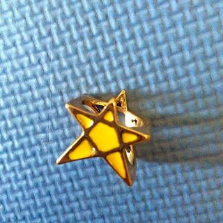 ピースナウ(PEACE NOW)のピースナウの星の指輪(リング(指輪))