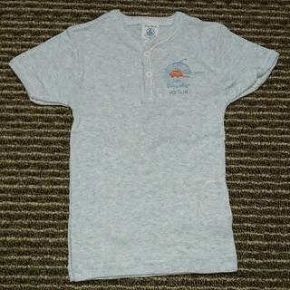 プチバトー(PETIT BATEAU)のプチバトー petit bateau 半袖 Tシャツ 6m 67cm 水色(Tシャツ)