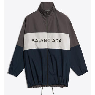 Balenciaga - バレンシアガ トラックスーツポプリンシャツ ロゴ
