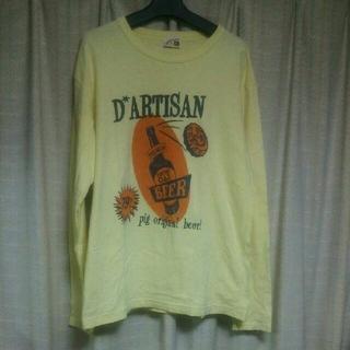 ステュディオダルチザン(STUDIO D'ARTISAN)のSTUDIO D'ARTISAN 長袖Tシャツ Sサイズ ダルチザン ロンT 服(Tシャツ/カットソー(七分/長袖))