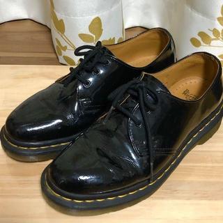 ドクターマーチン(Dr.Martens)のドクターマーチン ブラック 3ホール UK5 1461 PATENT(ブーツ)