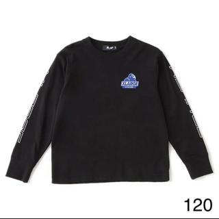 エクストララージ(XLARGE)のエクストララージ キッズ 120 ロンT ブラック(Tシャツ/カットソー)