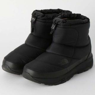 ザノースフェイス(THE NORTH FACE)の【新品】THE NORTH FACE NUPTS WP SHORT(23cm)(ブーツ)