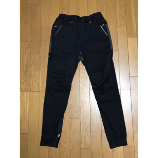 サンシー(SUNSEA)のSUNSEA FLEA MARKET PANTS 2 ブラック フリマパンツ(その他)