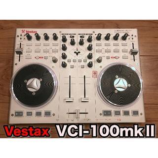 【PCDJ】Vestax VCI-100mkⅡ PCDJコントローラー 完動美品(DJコントローラー)