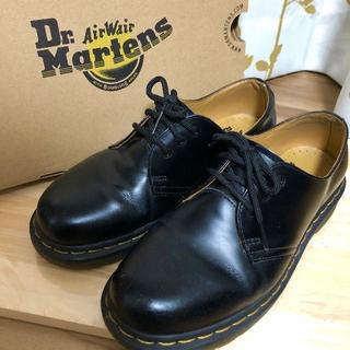 ドクターマーチン(Dr.Martens)のドクターマーチン ブラック 3ホール UK5 1461(ブーツ)