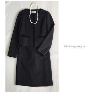 エムプルミエ(M-premier)のエムプルミエ  ノーカラー ジャケット スカート  スーツ 卒業式 入学式(スーツ)