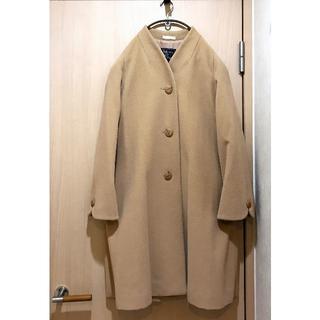BURBERRY - Burberrys Vintage A-line No Collar Coat