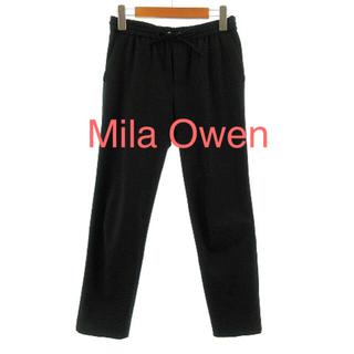 ミラオーウェン(Mila Owen)のミラオーウェン Mila Owen パンツ イージーパンツ ストレッチネイビー (カジュアルパンツ)