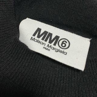 エムエムシックス(MM6)のMM6 ニット フリンジ ワンピース!(ニット/セーター)