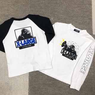 エクストララージ(XLARGE)の【xlarge kids】ロンT2枚 120(Tシャツ/カットソー)