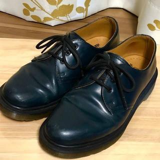 ドクターマーチン(Dr.Martens)のドクターマーチン ネイビー 3ホール UK5 1461(ローファー/革靴)