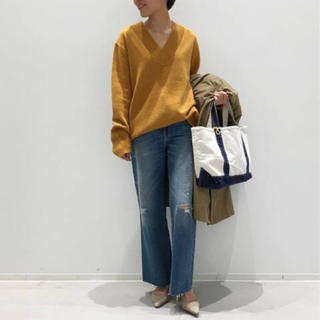 L'Appartement DEUXIEME CLASSE - WOOL Cashmere V/N Knit